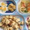 離乳食 後期 142日目 ミニ目玉焼き 麻婆豆腐