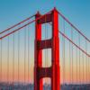 サンフランシスコでは赤い足を見てください。