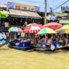 タイの水上マーケットで誤って強制寺院参拝3時間ツアーに参加した