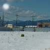 1月24日 雪が積もると