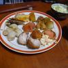 幸運な病のレシピ( 907 )夜:すき焼き鍋(鳥の胸肉)、鶏皮・ネギ焼き鳥