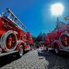 【茨城・土浦】日立建機土浦工場の消防車【モリタ】【消防車】