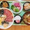 しめ鯖と鮪の丼寿司