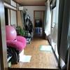 リノベーション前の(とっ散らかってる)座敷と仏間と客間 9月21日