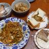 幸運な病のレシピ( 1371 )朝:血糖値の上がらない焼きそばパン、味噌汁