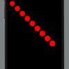 Viewクラスで画面(canvas)に複数の円を描く方法