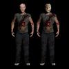 ジェイソン・ボーヒーズに、『13日の金曜日 PART3D』Tシャツを着せてみた。