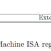 RISC-Vの特権レジスタ群のアクセス権限まとめ