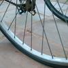 通勤用のクロスバイクがパンクした