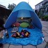 外出できない子どもたちのために庭にテントを張って見た結果