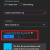 How to execute Microsoft Azure PowerShell commands on Azure Automation