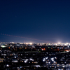 2020年2月11日(火) 富士山の夕景を撮ろうと思っていたら横田基地に着陸する航空機と夜景が撮れた話