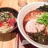 【静岡ラーメン】静岡市紺屋町のラーメン矢吹で「醤油とんこつ」+「ランチミニマグロ丼」