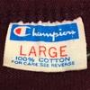 584 ビンテージ Champion フットボールTシャツ バータグ 70's