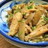 簡単!!鶏の手羽中とごぼうの煮っころがしの作り方/レシピ