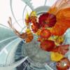 THETAで撮影された アート作品 ガラスの花 を360でみる #360pic