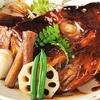 広島の自慢! 天然鯛のかぶと煮!