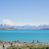 Lake Tekapo 素晴らしい青の景色。