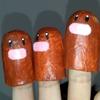 ディグダの指人形