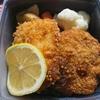 仙台鉄板焼 譽 仙台牛メンチカツと白身魚フライ