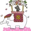 花まつりの花御堂を作りました。4月8日はお釈迦様がお生まれになった日です。