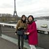 パリ、ミュンヘン リアルタイム旅行絵巻