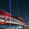 🌉神戸大橋のライトアップ 2020年1月撮影です