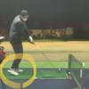 ゴルフスイングで「ベタ足スイング」を目指す(その1)