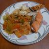 幸運な病のレシピ( 947 )昼:豚キムチ台湾ビーフン