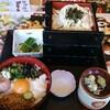 【味の民芸】健康ねばとろ丼ランチ(+うどん1枚増 ¥200) ¥1123