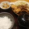 大手町【やまや 丸の内店】じっくりたれ漬け豚しょうが焼き定食 ¥1100