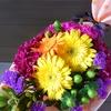 10月の生花アレンジ「ハロウィン」