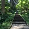 夏休み:羽黒山