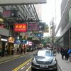 2/19 香港で重慶ビルを見る。国際列車で広州へ。(深圳→香港→広州)