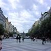 ハンガリー&チェコ旅「中欧をめぐる旅!チェコ独立の歴史を饒舌に語るヴァーツラフ広場<プラハ>」