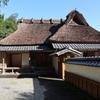 「中岡慎太郎生家」茅葺屋根の修繕