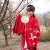 梅の花にはまだちょっと早かった上海植物園での漢服ポートレート撮影