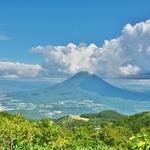 「ニセコアンヌプリ」登頂(途中までゴンドラで)~目の前の「羊蹄富士」を眺めながら。。。