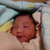 今年初の赤ちゃん