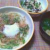 【ズボラ飯】仕事後8分で作る簡単ごはん ・レンジで焼きうどん+2品