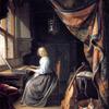【おまけ】「ヴァージナルの前に座る女」には原作がある?フェルメールが参考にした画家とは ~ロンドンナショナルギャラリー展~