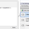 Xcode4のコードスニペット機能を試す。