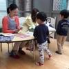 4日ぶりの幼稚園。全員出席で良かった。