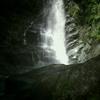 ナメ滝が最後まであり遡行をあきさせない-中川川モロクボ沢-