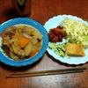 幸運な病のレシピ( 2261 )夜 :肉じゃが(豚バラブロックリヨー風)、マユのご飯