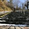 神道山公園の1088段の石段ダッシュでヒーハー!!