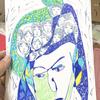 ミライエギャラリーで開催された大阪の芸術家「PLAY THE HOPE(プレイザホープ)」さんの絵画展に行ってきました