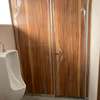 名古屋市熱田区某倉庫 トイレの改修工事、入口サッシ新設等施工