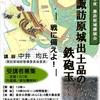 【2/2、島田市】講演会「諏訪原城出土品の鉄砲玉~」開催