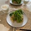 休日のお昼ご飯~ルッコラと鯖缶のパスタ~
